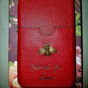 Authentic gucci iphone 8 plus case.